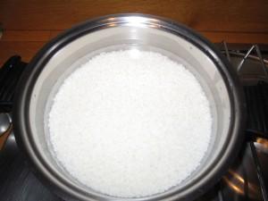 Il riso nella casseruola