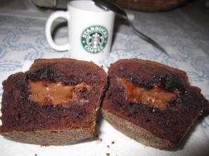 Muffins triplo cioccolato